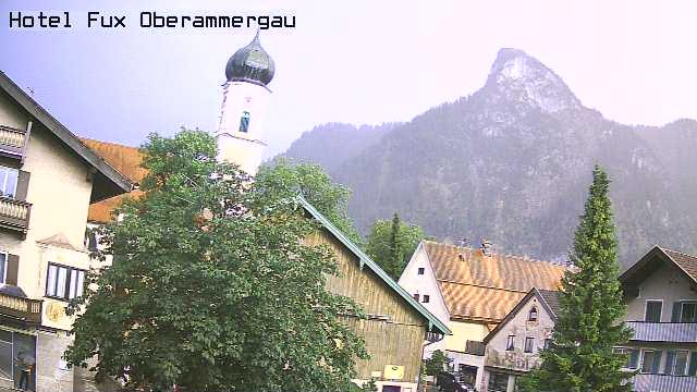 Webcam Hotel Fux Oberammergau